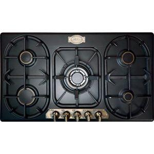 Kaiser kg 9325 Em Exclusif Nostalgie cuisson gaz 90 cm autosuffisants/Cuisinière à gaz Luxe fabricant Kaiser/Gaz Plaque/émail noir/Gaz/ (elektroniks-home, neuf)