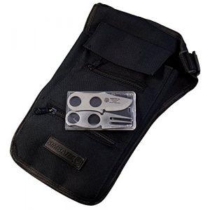 Simbatec Portefeuille d'épaule style holster avec couverts (procash, neuf)