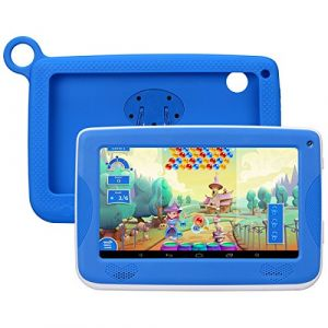 Enfant TabletteTactile Kivors 7 pounce tablette PC 8G ROM Android 4.4 Quad Core 1.0GHz Tablet pour les enfants (Bleu) (kivi-uk, neuf)