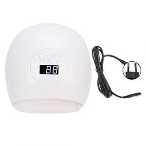 Lampe à ongles UV, lampe de sèche ongles à écran LCD 72w équipée de 36 perles lumineuses et de 3 vitesses 30s/60s/120s Mode de fonctionnement de la minuterie convient à les gels à ongles(#1) (runatyo, neuf)