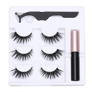 Outil de maquillage Waterproof Artisanal Nature Mascara magnétique Mascara Extension Forceps Stylo de ligne magnétique(N05) (boolpert, neuf)