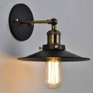 E27 Vintage Industrielle Murale Applique Retro Métal Plafonniers Lustres Lampe Réglable Luminaires Plafonnier Suspension Chambre Applique (Aoruisi, neuf)