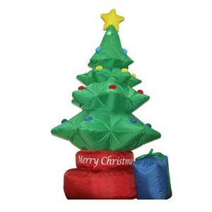 Modèle Gonflable D'arbre De Noël Auto-Gonflant De Noël, Décorations Et Décorations De Noël Gonflables Mignons De Noël, Appropriés À La Cour, Décoration De Jardin (M Monica, neuf)
