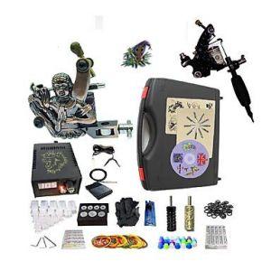 Machine À Tatouer Kit De Tatouage Professionnel, 2 Pcs Machines De Tatouage - 1 X Machine À Tatouer En Acier Pour Le Traçage Et (shuntai, neuf)