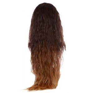 Extension Ondulation Egyptienne Caramel et Brun | Extension Capillaire une pièce |Légère texture gaufrée | Raie en forme de V (Hair By MissTresses, neuf)