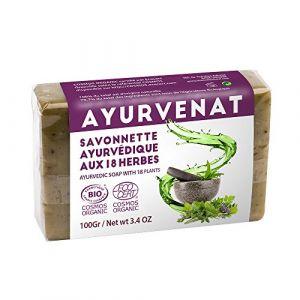 Oléanat Ayurvenat Savon Ayurvedique aux 18 Plantes Bio 100 g (force-et-sante, neuf)