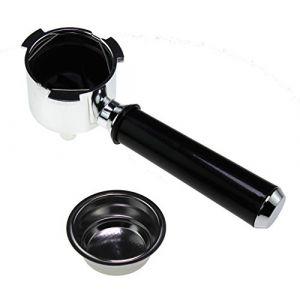 Delonghi 5513200369 Porte-filtre pour ec680 Machine à expresso (ADAM Dépannage, neuf)