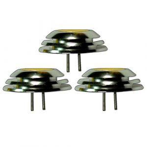3x G41,5W 1x COB LED à intensité variable 12V DC Blanc chaud pour variateur bouton/UFO forme 160° Ampoules halogènes G4GU4Ampoule Spot halogène Lampe de rechange DIMM Bar (pb-versand, neuf)