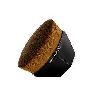WOZOW 55 Pinceau De Maquillage De Fondation Multifonctionnel Magique Sans Trace (Noir) (WOZOW, neuf)