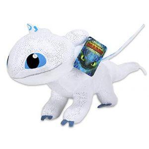 DreamWorks Dragons 3: Le Monde caché Furie Eclair 42 cm Glow in The Dark Effet (uktoyworld, neuf)