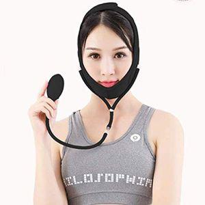 Face V Lifting Masque-Face Sangle V-Line-Face-Lift Bandage-Minceur Shaping Cheek-Visage Minceur,Black,M (HHCP, neuf)