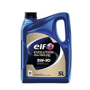 ELF Car lubrifiant Evolution Full-Tech FE 5W30 5 litres (? Siroco Shop ?, neuf)