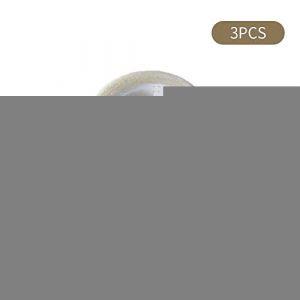 ZKO Ruban Adhésif Lavable, Adhésif Double Face Adhésif D'extension De Poil, Bandes Adhésives Amovibles Grip Pour Coller Des Photos Et Des Affiches, Fixer Des Tapis De Moquette, Des Objets En Pâte, Etc (CXKB&AD ZKO, neuf)