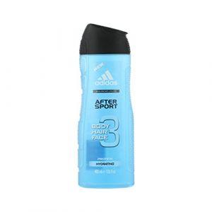 Adidas After Sport Gel douche 3en 1400ml (Man) (PARFUM ET MOI, neuf)
