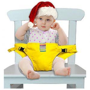iZiv Chaise Haute Portable Bébé Chaise Nomade Voyage pour Sécurité Chaise et  Alimentation Bébé Facilement Dehors c7a9ec9cb28