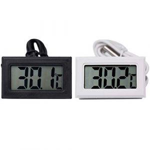 Thermomètre Numérique LCD Thermomètre Température Capteur Sonde Réfrigérateur Congélateur Thermomètre Réservoir De Poissons (Nesim Shew, neuf)