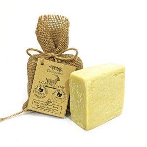 Savon à la lait de chèvre organique naturel traditionnel fait à la main antique - Anti-âge éclaircissant pour la peau, hydratant - Aucun produit chimique, savon naturel pur! (AvavA, neuf)