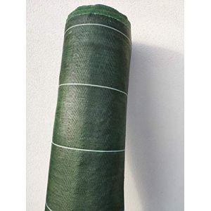 130g/m2 Toile Bache de paillage tissée Anti-Mauvaises Herbes Largeur 4,15m Longueur 25m (www.cascades-inox, neuf)