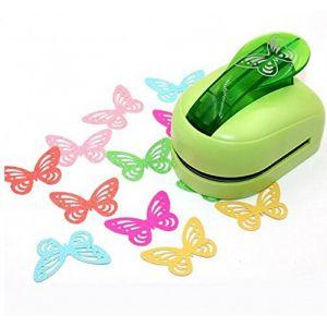 Chengyida Super Grande taille Shaper Punch Craft Scrapbooking Papillon papier Puncher Grande Craft Punch DIY enfants jouet (couleur aléatoire) (Euseller, neuf)