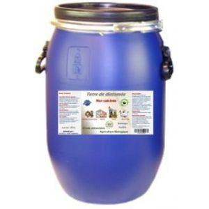 Terre de Diatomée 25kg Non calcinée/Alimentaire - Bidon Solide et réutilisable. Fermeture par cerclage Qui Garantie l'étanchéité. (France Diatomée, neuf)