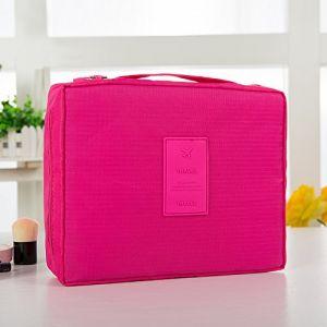MZP Corée sac de lavage Kit de Voyage portable dame Voyage poche imperméable Voyage d'affaires Produits cosmétiques , rose red (ZhongPing Miao, neuf)