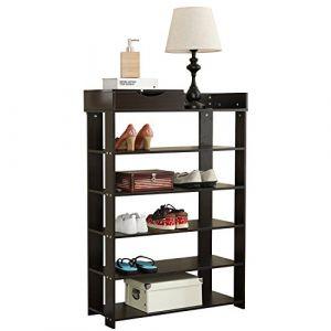 etagere bois rangement chaussures comparer 76 offres. Black Bedroom Furniture Sets. Home Design Ideas