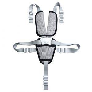 Fitzulam Sangle de sécurité pour chaise haute 5 points avec coussinets de protection d'épaule pour chaise haute, landau, poussette, enfant (Fitzulam, neuf)