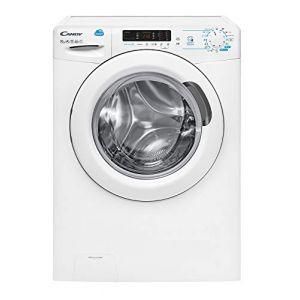 Candy CSS 14102D3-S machine à laver Autonome Charge par-dessus Blanc 10 kg 1400 tr/min A+++ - Machines à laver (Autonome, Charge par-dessus, Blanc, Boutons, Rotatif, Gauche, Blanc) (TiendaAzul Appareils, neuf)