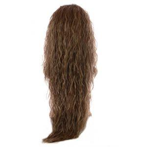 Extension Ondulation Egyptienne Brun d'Automne | Extension Capillaire une pièce |Légère texture gaufrée | Raie en forme de V (Hair By MissTresses, neuf)