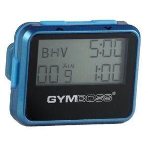 Gymboss Minuteur d'intervalle et chronomètre – COQUE BRILLANT SARCELLE / BLEU (Gymboss EU, neuf)