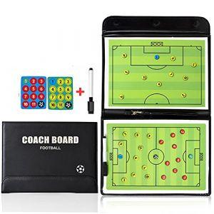 PhantomSky Professionnel Pratique Tableau de Magnétique de Conseil Tactics de d'entraînement Football Portable pour Entraîner de Football Compétition (Taille: 53cm x 31cm) (PhantomDirect, neuf)