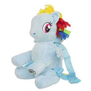 My Little Pony Sacs à Dos Enfant 3D Peluche (Rainbow Dash) (Fandomized FR, neuf)