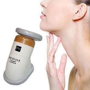Portable Neckline Slimmer Massage de Menton Réducteur Double Menton Soin Retend la Peau et les Muscles du Cou pour Hommes et Femmes (Fancylande, neuf)