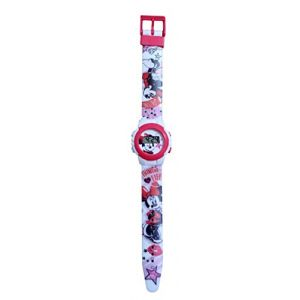 Montre Fille Enfant Disney Mickey Selfie Minnie Plus Portefeuille (licence team, neuf)