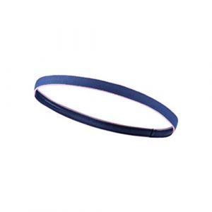 Frcolor Bleu foncé Sports Bandeau élastique mince Bandeau exercices Yoga Golf Course à Pied Bandeau pour homme femme (Ansuen, neuf)