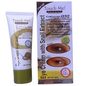 Crème à la Bave d'escargot Anti-Cernes Contour des Yeux 50 ml Touch Me (bestseller44876, neuf)