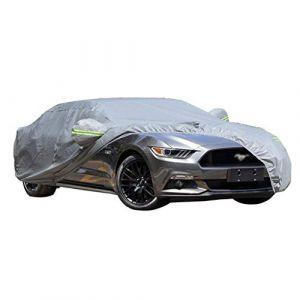 LXY1,Bâche Voiture Ford Mustang Sports Car Épaississement Sunscreen Isolation De Pluie Preuve De La Poussière Intérieur Extérieur (Couleur : 2018) (Denim Home, neuf)
