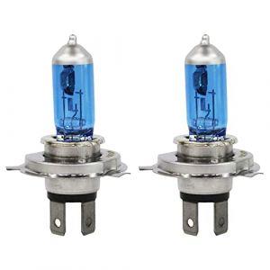 Ampoule halogène pour phares avant Super blanc 5 000 K 12 V 100 W H4 (Roccer Light, neuf)