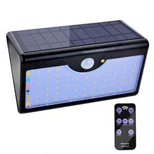 eclairage exterieur solaire avec telecommande comparer. Black Bedroom Furniture Sets. Home Design Ideas