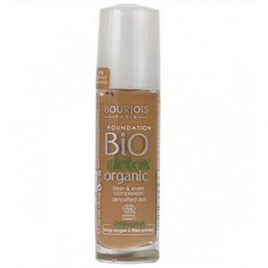 Bourjois - Bio Detox Organic Foundation - Fond de Teint - N°58 Dark Bronze - 30ml (Blisso FR, neuf)