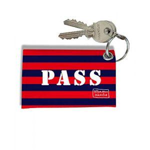 Porte-clés Carte Pass Navigo, Etui Porte-clés Carte Pass Navigo Réf. 943 (bistrakoo, neuf)