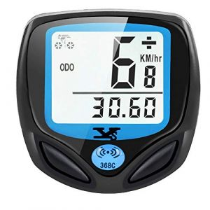 DINOKA Compteur de Vitesse sans Fil étanche pour vélo avec écran LCD rétroéclairé Multifonction (KOROPADE, neuf)