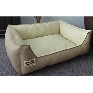 40c0d98a61f0 Panier pour chien en simili-cuir - Canapé pour chien, taille de XS à