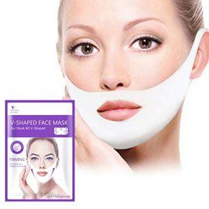 Lift Masques Balight V Masque Visage Lifting Peel-off Minceur Minceur Visage V Shaper Masques Anti-Rides Pendaison Oreille Bandage (Richaollk, neuf)