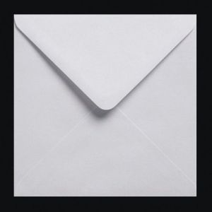 Lot de 200Enveloppes carrées gommées Blanc 100g/m² 155 x 155mm (Pocketfold Invites, neuf)