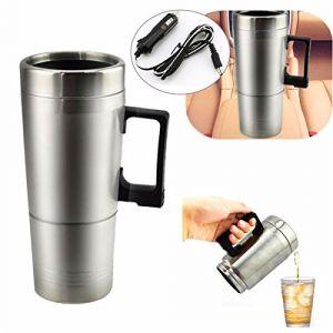 C-FUNN 12 V 300 ML Portable dans Voiture Cafetière Thé Pot Pot Thermos Chauffage Tasse Couvercle (C-FUNN, neuf)