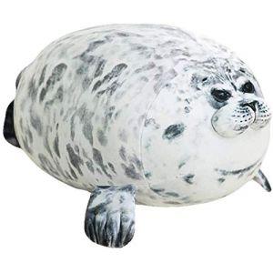 Peluche mignon lion de mer animal marin sommeil oreiller enfant cadeau d'anniversaire 60 cm-A (lizhaowei531045832, neuf)