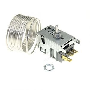 CONTINENTAL-EDISON - 077B0344 THERMOSTAT RC 077B0344 POUR REFRIGERATEUR CONTINENTAL EDISON (Groupe Dragon, neuf)