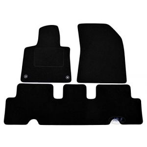 J&J AUTOMOTIVE | Tapis DE Sol Noir Velours Compatible avec Citroen C4 Picasso II 2014-PRéS (J&J AUTOMOTIVE, neuf)