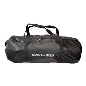 Backpack Locker (100l-335g) - Housse Avion Pour Sac à Dos – Grand Sac à Bandoulière - Cadenas Offert (4sports&travels, neuf)